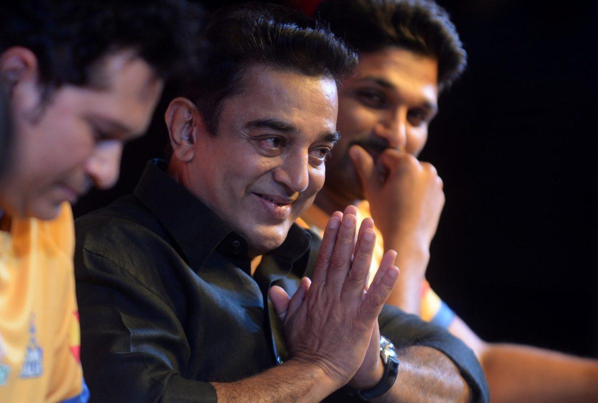 Indian movie actor Kamal Hassan. Photo: AFP / Arun Sankar