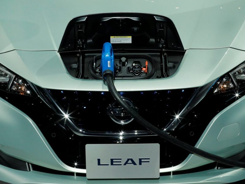 Nissan Motor Co's new Leaf, the latest version of the world's top selling electric vehicle. Photo: Reuters/Kim Kyung-Hoon