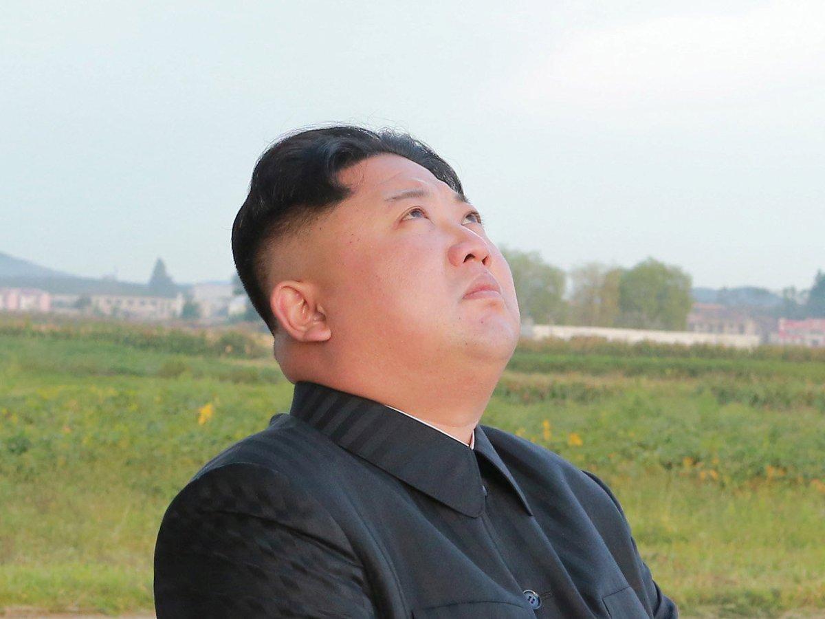 Korean unification as pie in the sky? Photo: KCNA via Reuters