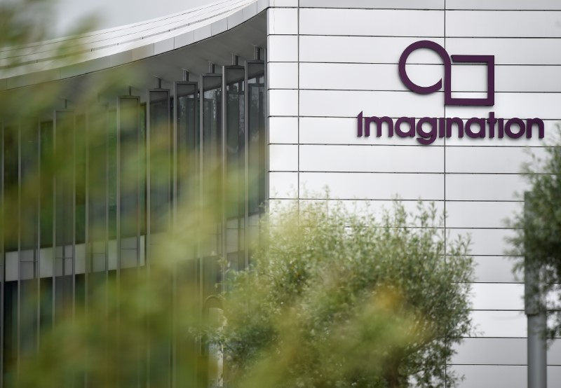 The headquarters of Imagination Technologies is seen on the outskirts of London. Photo: Reuters / Hannah McKay