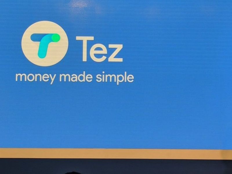 Indian Finance Minister Arun Jaitley has high hopes for digital payment apps such as Google Tez. Image: Google