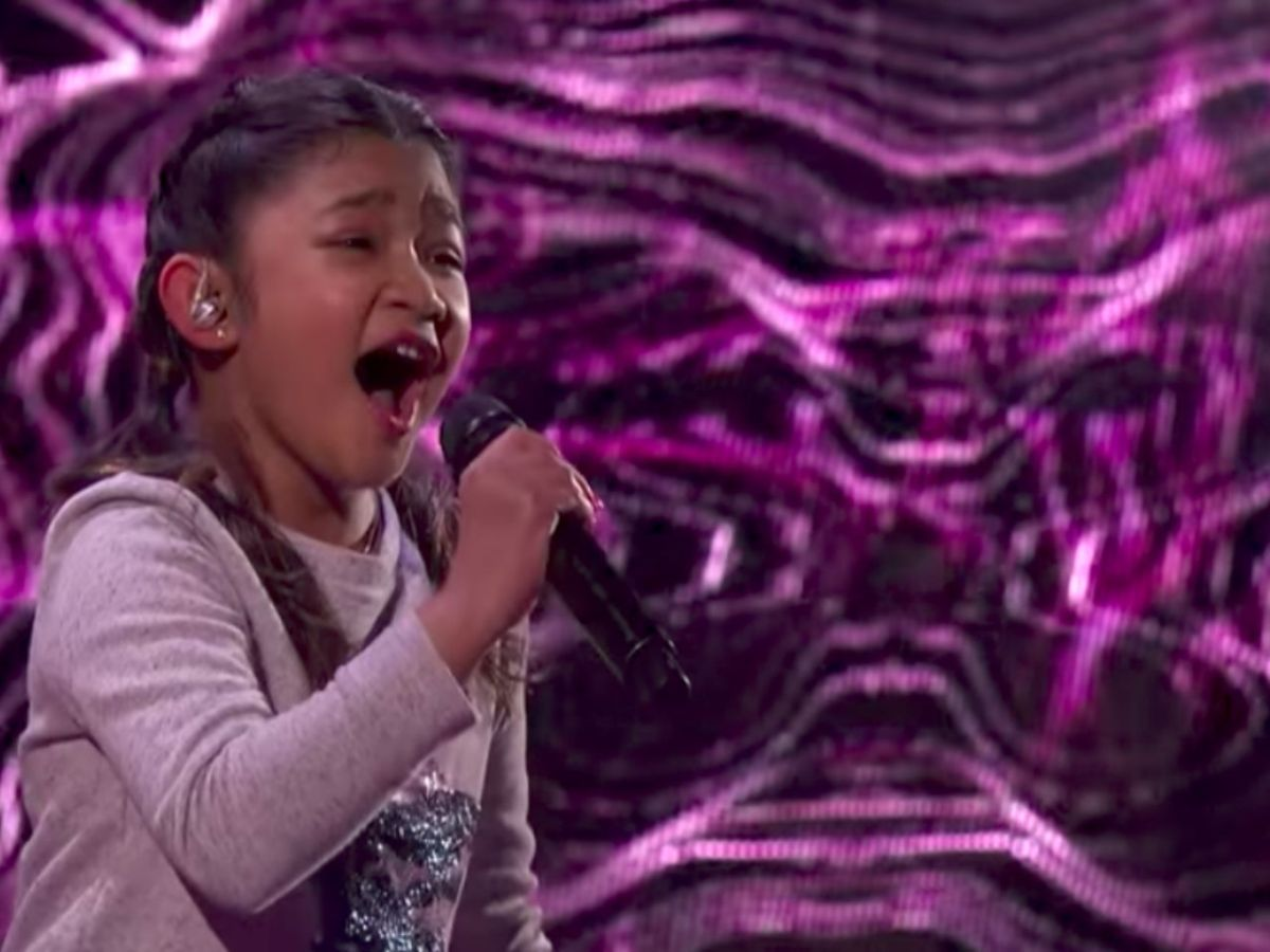 Angelica Hale is through to the finals of America's Got Talent. Photo: AGT