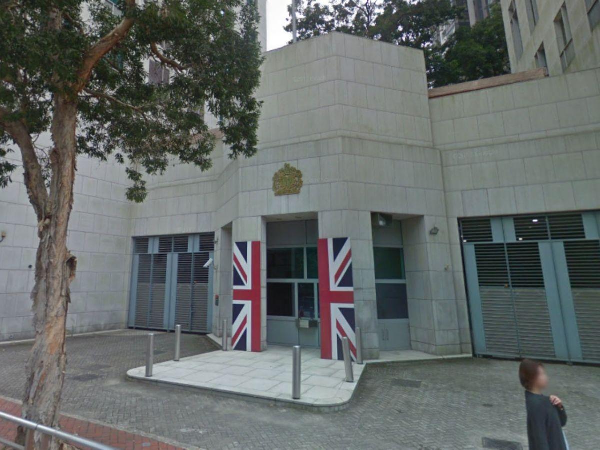 British Consulate, Hong Kong Island. Photo: Google Maps