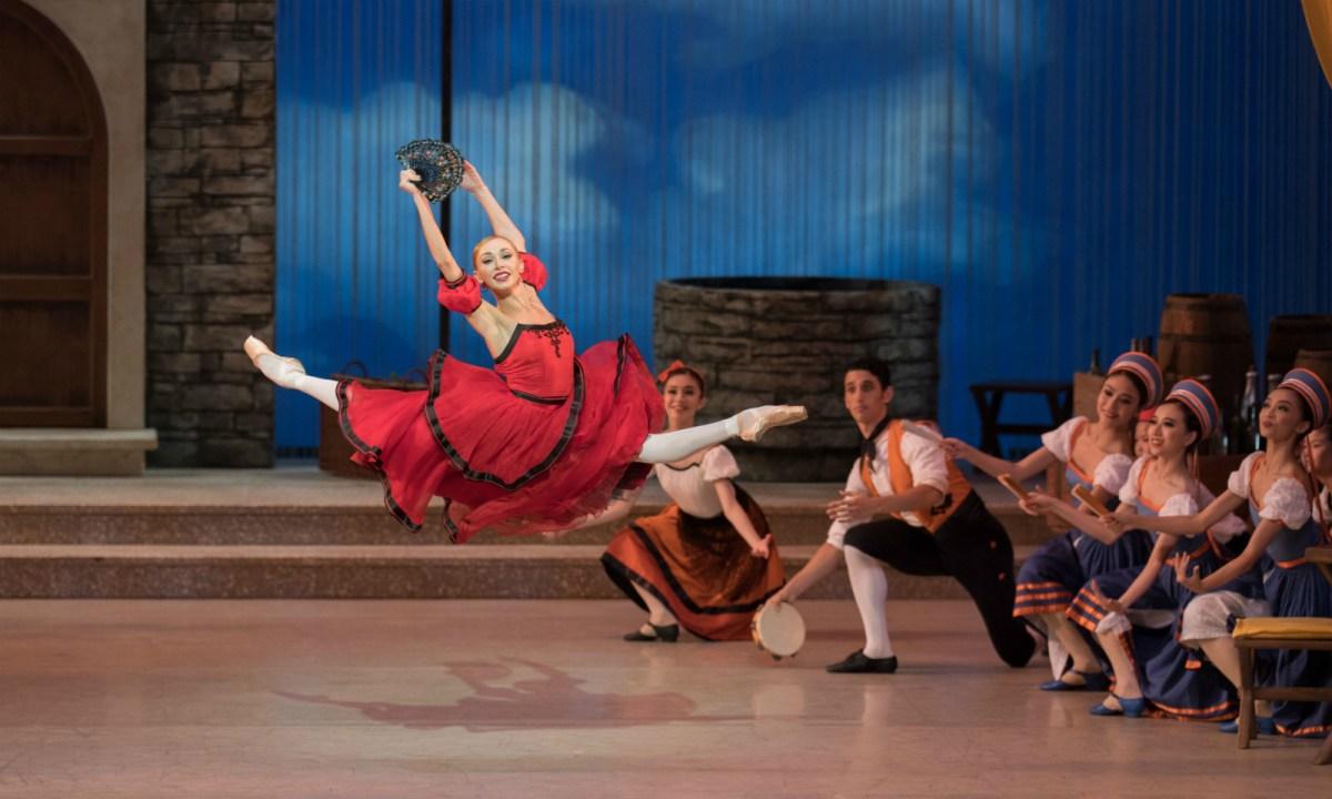 Iana Salenko as Kitri in Don Quixote. Photo: HK Ballet