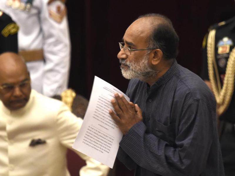 Union Tourism Minister Alphons Kannanthanam. Photo: Hindustan Times