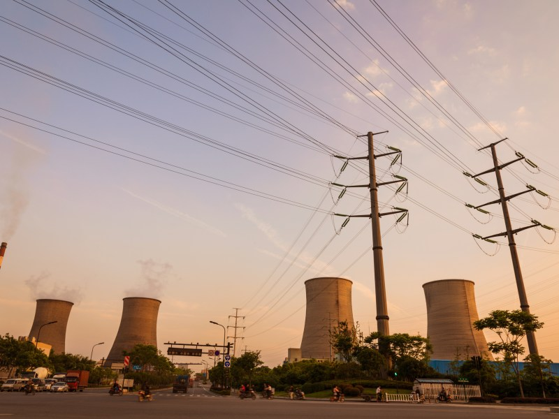 Pylons and thermal power Photo: iStock