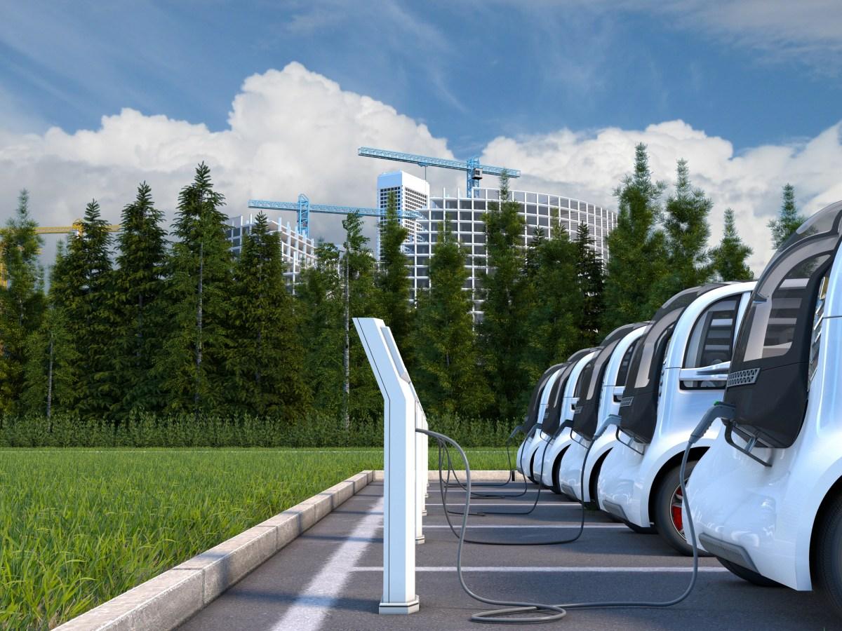 Electric cars. Photo: iStock