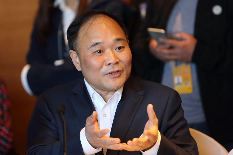 Li Shufu, Chairman of Zhejiang Geely Holding Group Co. Photo: AFP