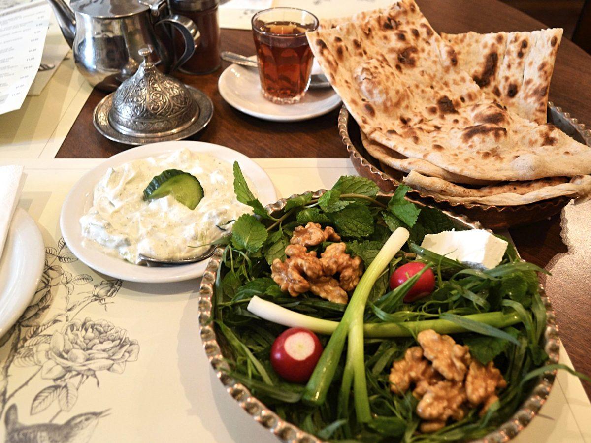 Hafez salad. Photo: Jennifer Wong