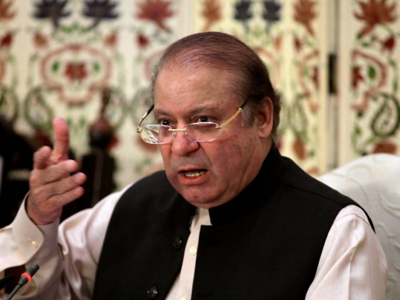 Pakistan's National Assembly passed a bill on October 2 allowing ousted prime minister Nawaz Sharif to be reelected as leader of  the ruling PML-N. Photo: Reuters