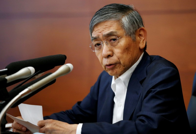 Bank of Japan Governor Haruhiko Kuroda may be sticking around. Photo: Reuters/Toru Hanai