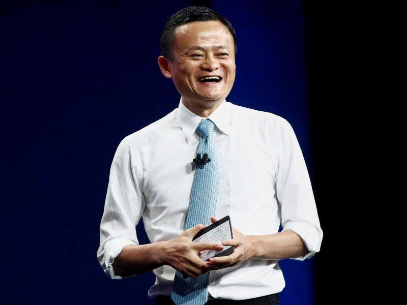 Jack Ma, chairman of Alibaba Group, speaks at the Alibaba Gateway Conference in Toronto, Ontario, on September 25, 2017. Photo: Reuters / Mark Blinch