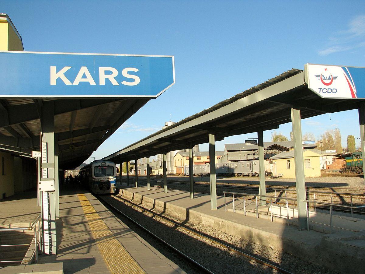 Kars train station. Photo: Wikipedia