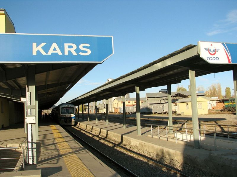 Kars train station. Photo: Wikipedia