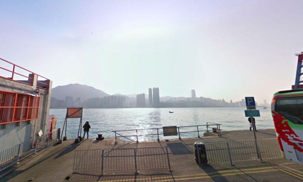 Sam Ka Tsuen Ferry Pier in Lei Yue Mun, Kowloon. Photo: Google Maps