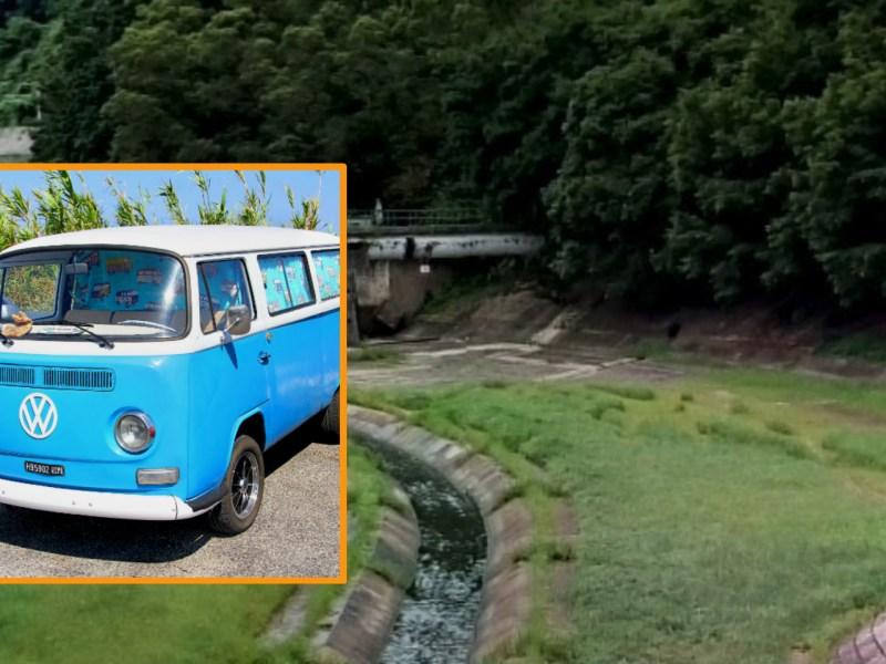Mui Shue Hang and a VW camper-van. Photo: iStock, Google Maps