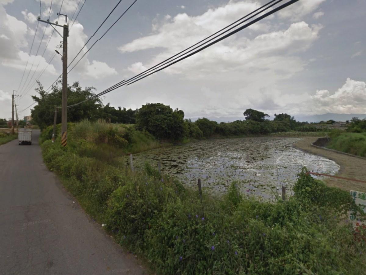 The Bazhang River near I Hsing Village, Shuishang Town, Chiayi County, Taiwan. Photo: Google Maps