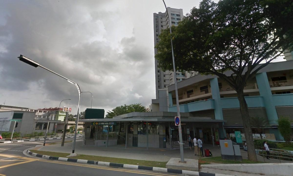 Little India MRT Station, Singapore. Photo: Google Maps