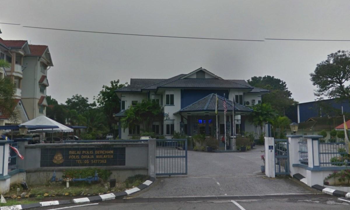 Bercham Police Station in Ipoh, Perak, Malaysia. Photo: Google Maps