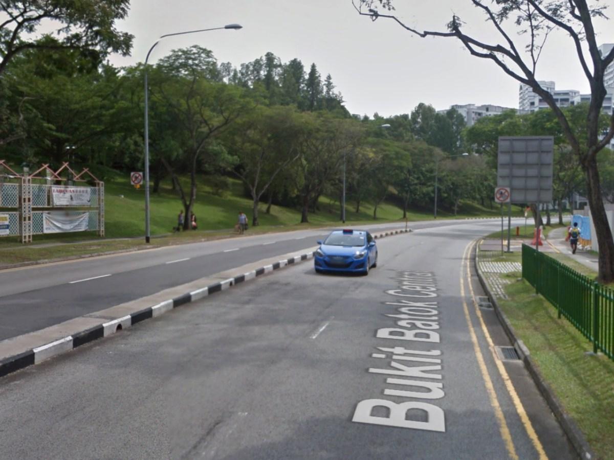 Bukit Batok Central in Singapore's west. Photo: Google Maps