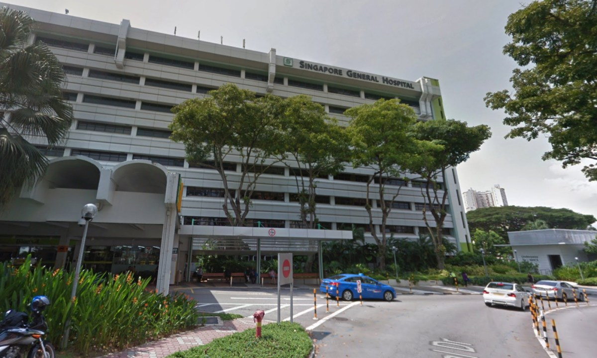 The seriously ill maid was taken to Singapore General Hospital. Photo: Google Maps