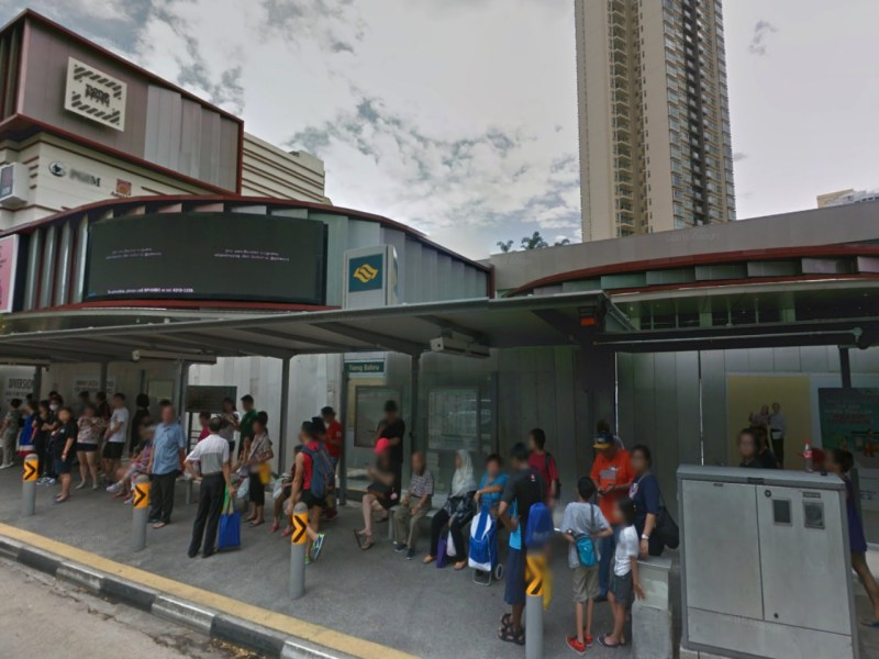 Tiong Bahru MRT station, Singapore. Photo: Google Maps