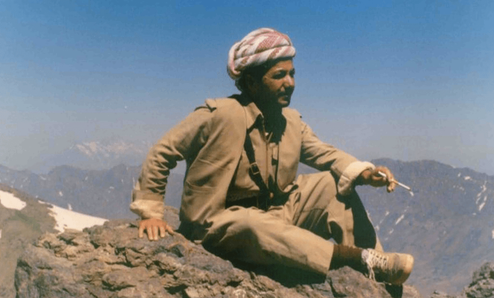 Masound Barzani in his younger days. Photo: Korek Kurdistan Iraq