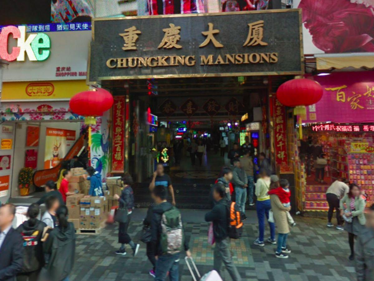 Chungking Mansions in Tsim Sha Tsui, Kowloon. Photo: Google Maps