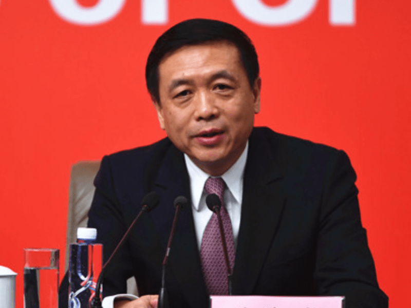 Zhang Hongsen, deputy director of China's State Administration of Radio, Film & Television. Photo: cpc.people.com.cn