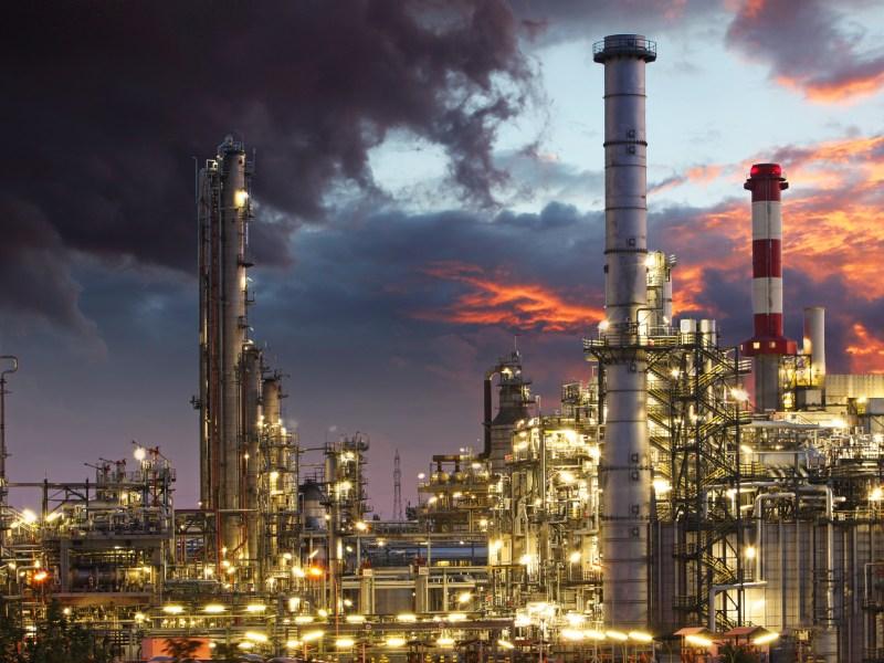Oil refinery. Photo: iStock