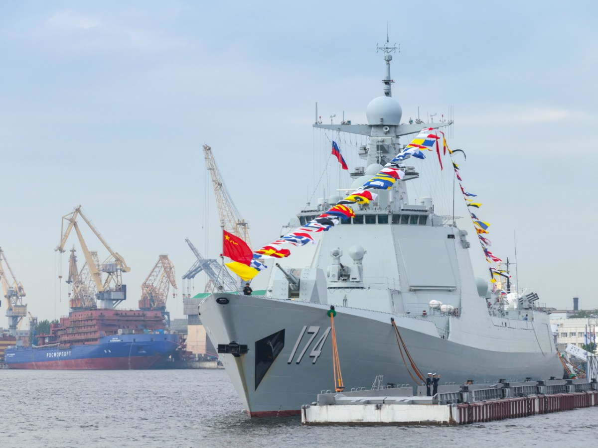 With ESA radar and vertical missile launch pads, The Kunming is the flagship of Type 052D destroyers. Photo: Getty Images