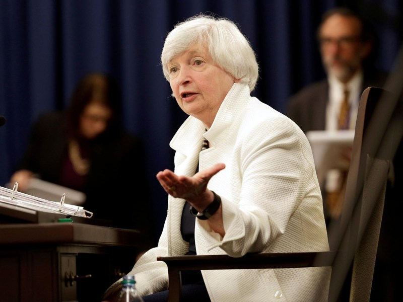 Federal Reserve Chairman Janet Yellen. Photo: Reuters