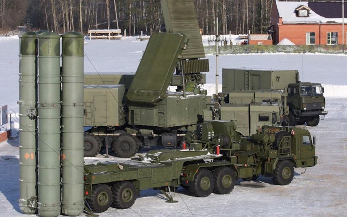 India has  finalized the acquisition of Russia's S-400 air defense missile system earlier in October. Photo: Russian Defence Ministry