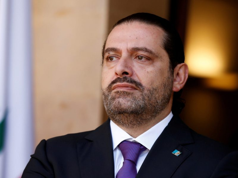 Saad al-Hariri. Photo: Reuters / Mohamed Azakir
