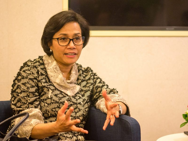Indonesian Finance Minister Sri Mulyani Indrawati in Hong Kong on November 1, 2017. Photo: Asia Times / Lin Wanxia