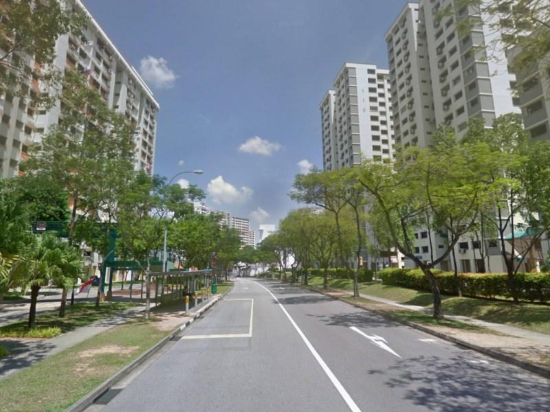 Jelapang Road in Bukit Panjang, Singapore. Photo: Google Maps