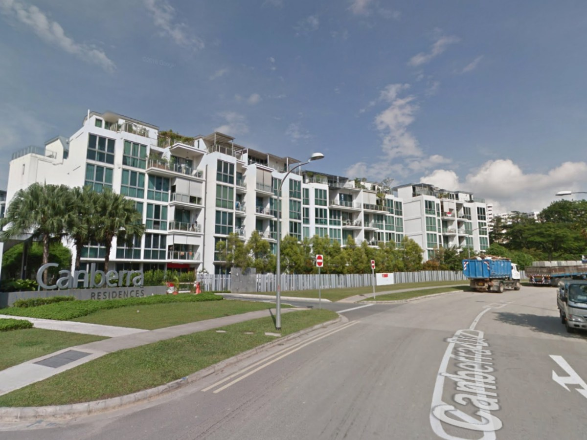 Canberra Drive in Singapore. Photo: Google Maps