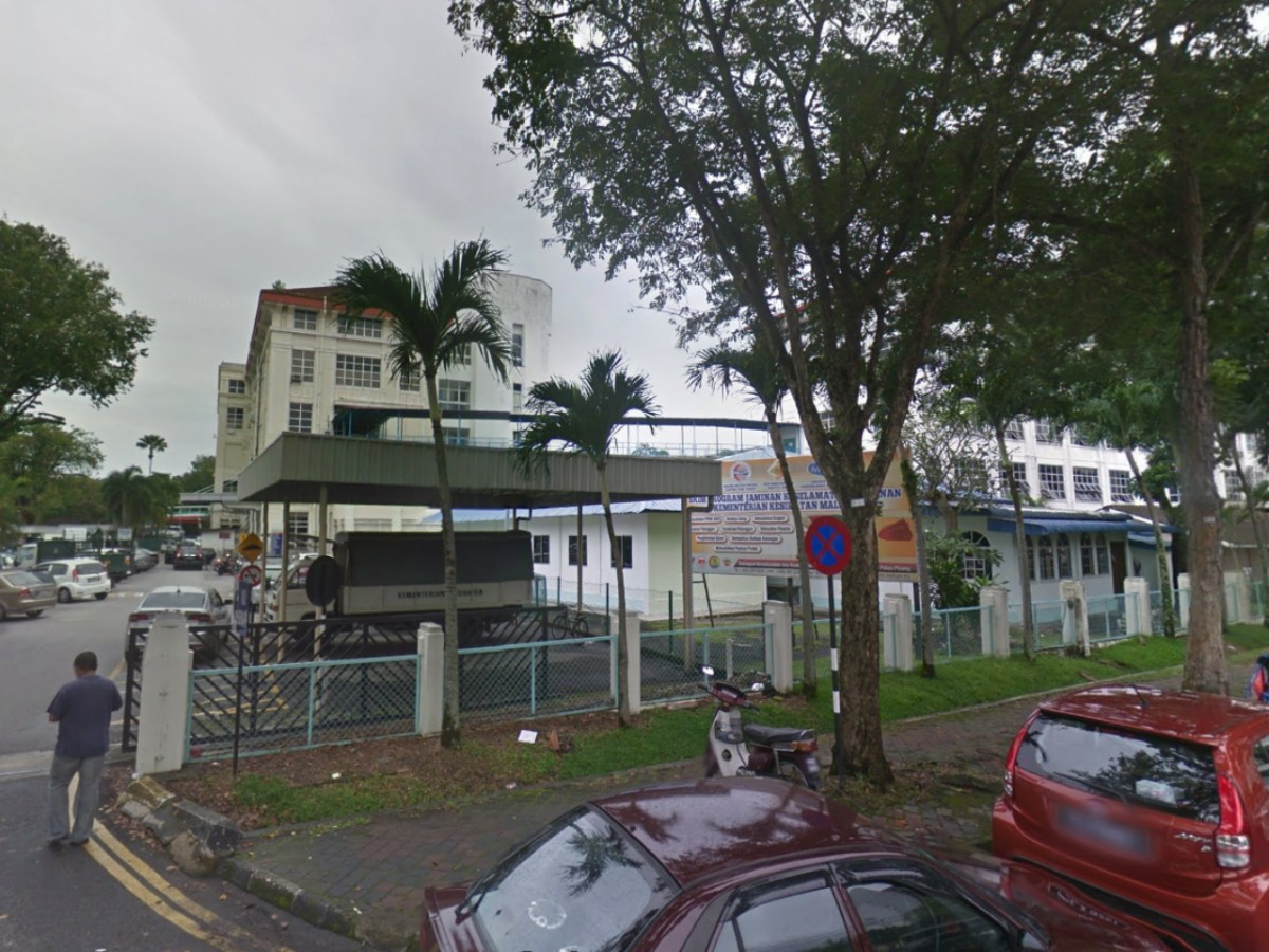 Penang General Hospital in George Town, Malaysia. Photo: Google Maps