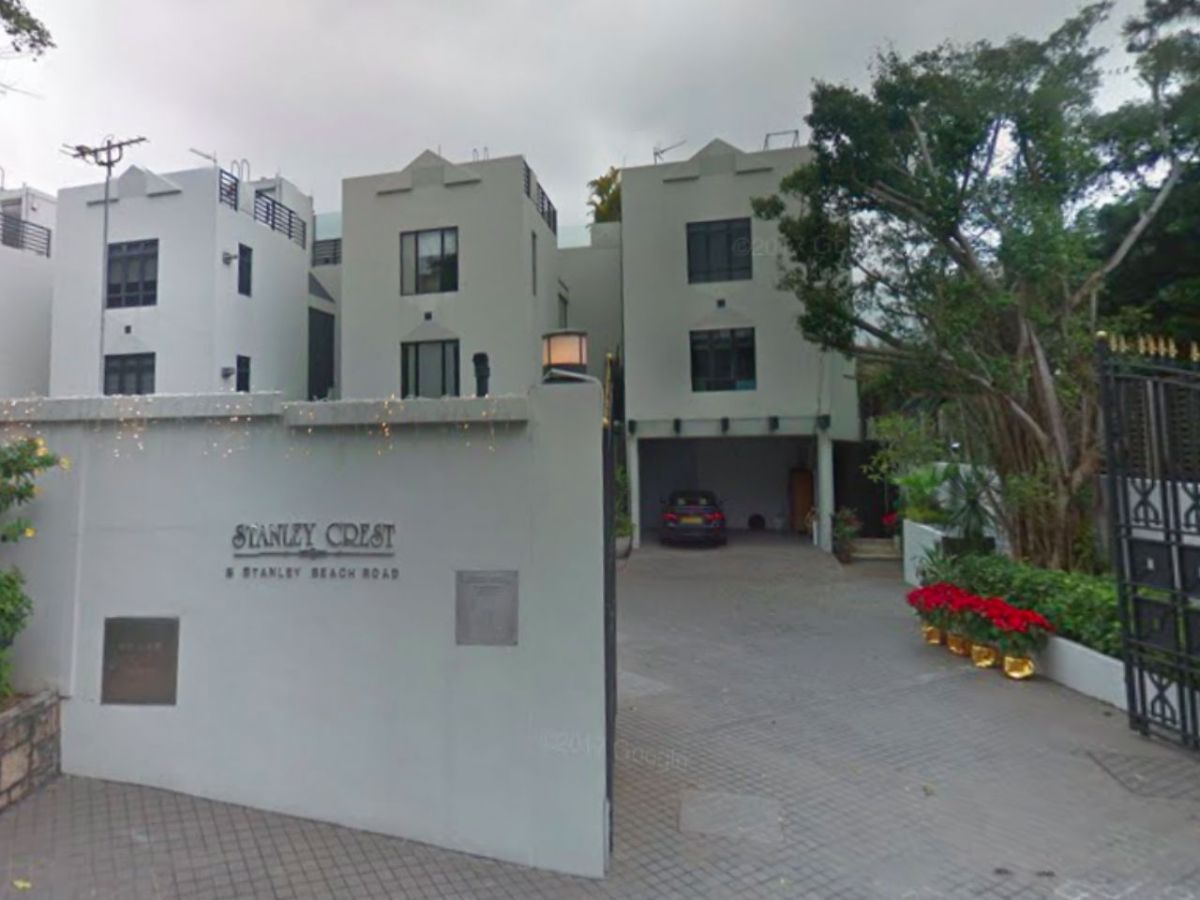 The Stanley Crest estate on Hong Kong Island. Photo: Google Maps