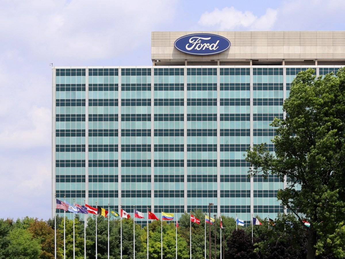 The Ford Motor Company World Headquarter. Photo: iStock