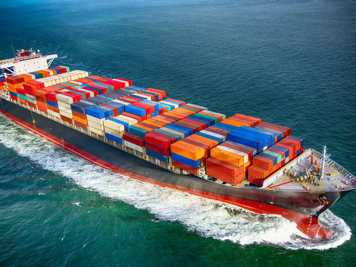 A fully stocked cargo ship. Photo: iStock