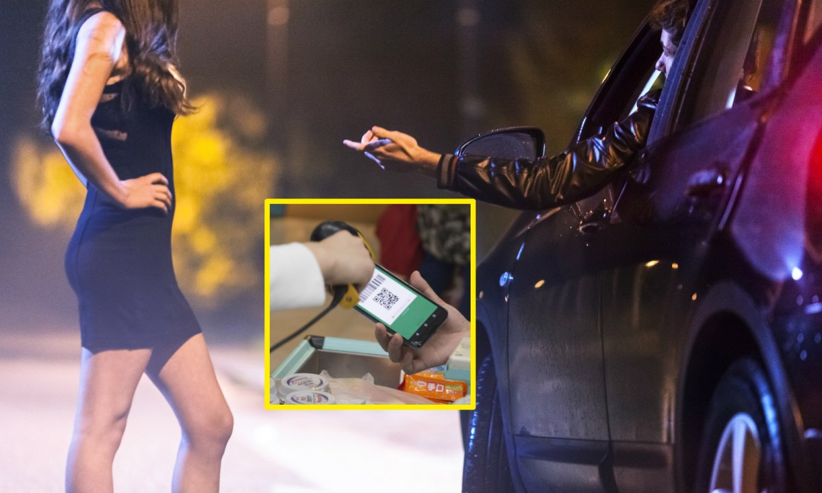 Mobile payment is said to be available for prostitution in China. Photo: iStock