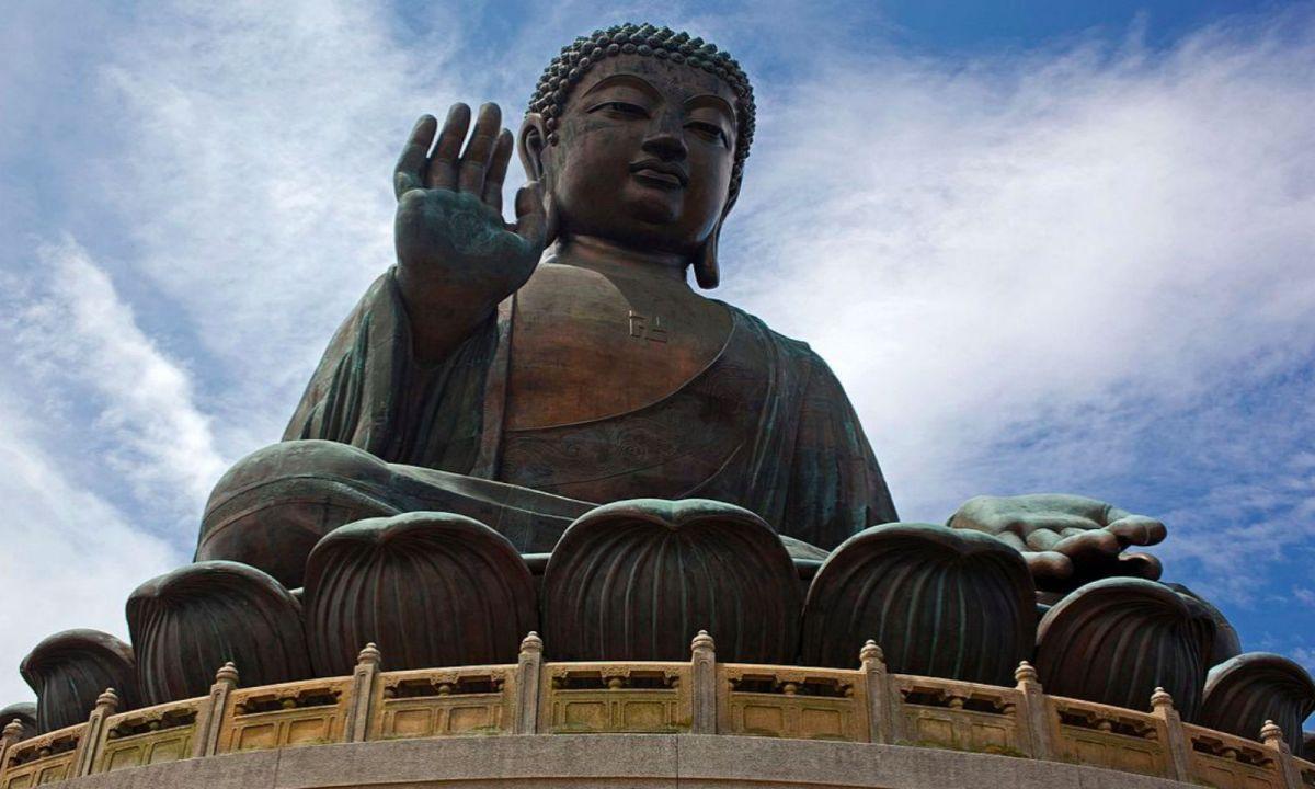 The Big Buddha at Po Lin Monastery, Lantau Island. Photo: Wikipedia