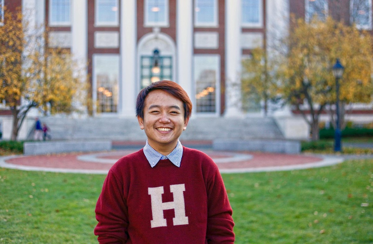 Harvard student Thang Diep: A majority of Harvard's incoming class in 2017 is non-white for the first time in its nearly four centuries as an institution of higher learning. Photo: Thang Diep