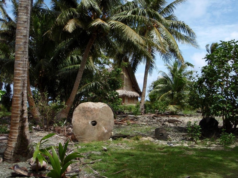 Rai stone currency on the island of Yap, Micronesia. Photo: iStock
