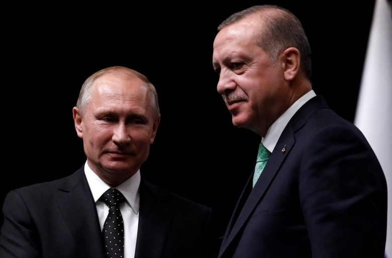 Turkish President Tayyip Erdogan and his Russian counterpart Vladimir Putin meet in Ankara, Turkey, on December 11, 2017. Photo: Reuters / Umit Bektas