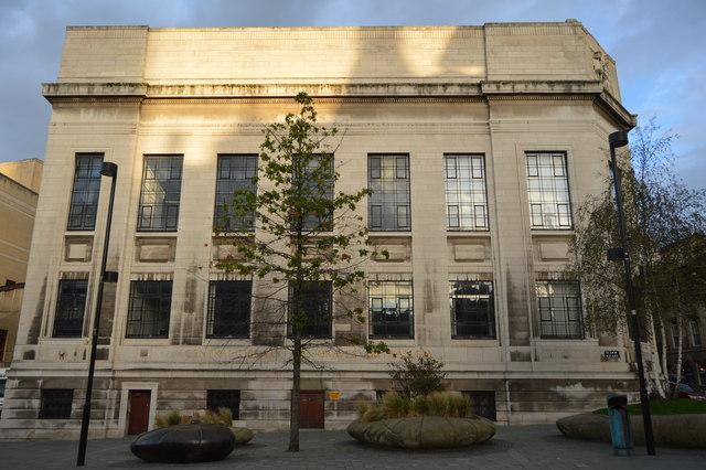 Sheffield Central Library. Photo: public domain