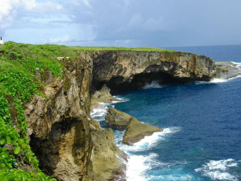 Banzai Cliff in Saipan. Photo: Wikimedia Commons, Abasaa
