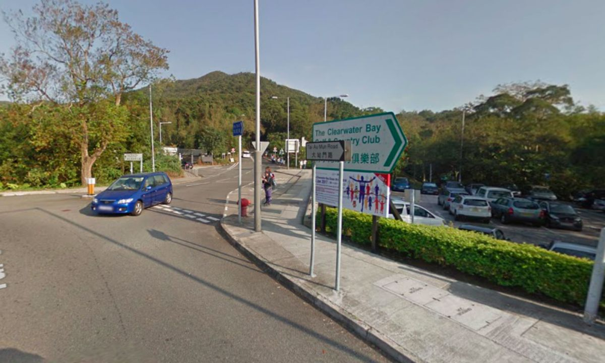 Clear Water Bay, Sai Kung, New Territories. Photo: Google Maps