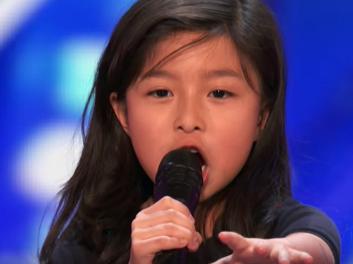 Nine-year-old Hong Kong singer Celine Tam wins applause by performing 'My Hear Will Go On' in an audition of 'America's Got Talent.' Photo: AGT, YouTube